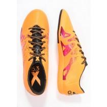 Zapatos de fútbol adidas Performance X 15.3 In Hombre Solar Oro/Núcleo Negro/Shock Rosa,chaquetas adidas retro,adidas rosas,apreciado