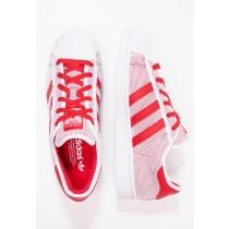 Trainers adidas Originals Superstar Adicolor Mujer Blanco/Colegial Rojo,ropa running adidas,ropa running adidas,clásico