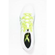 Zapatos de fútbol adidas Performance X 15.4 Fxg Hombre Blanco/Semi Solar Slime/Núcleo Negro,adidas scarpe,adidas chandal online,catalogo