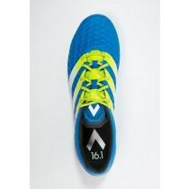 Zapatos de fútbol adidas Performance Ace 16.1 Fg/Ag Hombre Shock Azul/Semi Solar Slime/Blanco,zapatos adidas outlet,adidas scarpe,Madrid sin precedentes