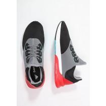Zapatos para correr adidas Performance Falcon Elite 5 Hombre Núcleo Negro/Vivid Rojo/Shock Verde,zapatos adidas 2017,ropa adidas trail running,búsqueda superior
