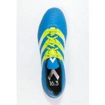 Zapatos de fútbol adidas Performance Ace 16.3 Fg/Ag Hombre Shock Azul/Semi Solar Slime/Blanco,bambas adidas superstar,adidas sale,En línea