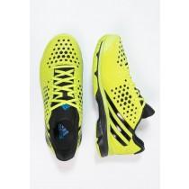 Zapatos de voleibol adidas Performance Volley Response Boost Hombre Semi Solar Slime/Núcleo Negr,ropa imitacion adidas,adidas negras y doradas,en Mérida