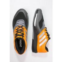 Zapatos deportivos adidas Performance Crazytrain Boost Hombre Naranja/Matte Plata/Gris,adidas blancas y verdes,adidas negras y doradas,Venta caliente