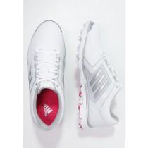 Zapatos de adidas Adistar Tour Mujer Blanco/Matte Plata/Raspberry Rose,adidas negras enteras,adidas blancas y verdes,más bella