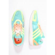 Trainers adidas Performance Yvori Mujer Radiant Aqua/Bright Verde/Ligero Flash Amarillo,zapatos adidas nuevos,chaquetas adidas,mercado