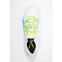 Zapatos de fútbol adidas Performance X 15.1 Sg Hombre Blanco/Semi Solar Slime/Núcleo Negro,zapatillas adidas chile,ropa adidas running barata,poseer