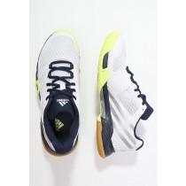 Zapatos de voleibol adidas Performance Volley Team 3 Mujer Blanco/Plata Metallic/Colegial Armada,relojes adidas corte ingles,zapatos adidas outlet,noble