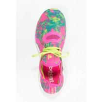 Zapatos para correr adidas Performance Pureboost X Mujer Shock Rosa/Semi Solar Slime,zapatos adidas,ropa outlet adidas original,interesante
