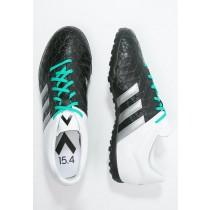 Astro turf trainers adidas Performance Ace 15.4 Tf Hombre Núcleo Negro/Metallic Plata/Blanco,zapatos adidas baratos,adidas negras y blancas,más activo