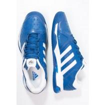 Deportivos calzados adidas Performance Barricade Club Clay Hombre Azul/Blanco/Shock Azul,zapatos adidas baratos,outlet ropa adidas santiago,creativo en españa