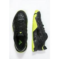 Deportivos calzados adidas Performance Barricade Court 2 Hombre Núcleo Negro/Semi Solar Slime/Ir,bambas adidas baratas online,zapatillas adidas chile,comerciante