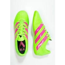 Zapatos de fútbol adidas Performance Ace 16.4 In Hombre Solar Verde/Shock Rosa/Núcleo Negro,zapatillas adidas precio,adidas ropa deportiva,tema