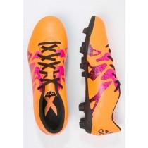 Zapatos de fútbol adidas Performance X 15.4 Fxg Hombre Solar Oro/Núcleo Negro/Shock Rosa,zapatos adidas 2017 precio,adidas running baratas,economicas