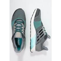 Zapatos para correr adidas Performance Ultra Boost St Hombre Gris/Núcleo Negro/Verde,ropa adidas originals outlet,adidas rosa palo,en oferta