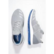 Zapatos para correr adidas Performance Pure Boost Zg Prime Hombre Mid Gris/Chalk Solid Gris/Azul,bambas adidas rosas,tenis adidas baratos,en venta