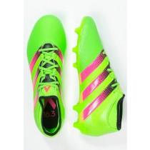 Zapatos de fútbol adidas Performance Ace 16.3 Primemesh Fg/Ag Hombre Solar Verde/Shock Rosa/Núcl,ropa adidas outlet,chaquetas adidas baratas,Buen servicio
