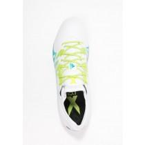 Zapatos de fútbol adidas Performance X 15.1 Fg/Ag Hombre Blanco/Semi Solar Slime/Núcleo Negro,bambas adidas baratas online,zapatillas adidas precio,soñar