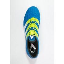 Zapatos de fútbol adidas Performance Ace 16.1 Sg Hombre Shock Azul/Semi Solar Slime/Blanco,adidas baratas blancas,zapatillas adidas chile,nuevas boutiques