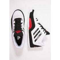 Zapatos de baloncesto adidas Performance 3 Series 2015 Hombre Blanco/Núcleo Negro/Scarlet,adidas running,adidas sudaderas outlet,tesoro