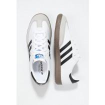 Trainers adidas Originals Samba Mujer Blanco/Negro,adidas rosas gazelle,ropa imitacion adidas,Más barato