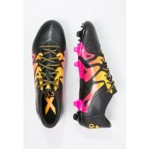 Zapatos de fútbol adidas Performance X 15.3 Fg/Ag Hombre Núcleo Negro/Shock Rosa/Solar Oro,relojes adidas led baratos,chaquetas adidas originals,baratas originales