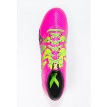 Zapatos de fútbol adidas Performance X 15.3 Fg/Ag Hombre Shock Rosa/Solar Verde/Núcleo Negro,ropa imitacion adidas,bambas adidas,poseer
