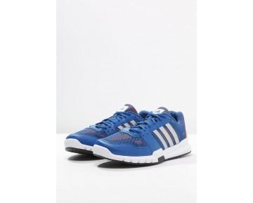 best website d3f4a 58a72 Zapatos deportivos adidas Performance Essential Star .2 Hombre Azul Matte  Plata Naranja,