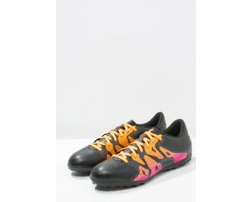 Astro turf trainers adidas Performance X 15.4 Tf Hombre Núcleo Negro/Shock Rosa/Solar Oro,zapatos adidas 2017 ecuador,adidas rosas nuevas,favorecido