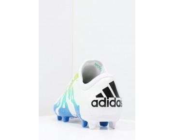 Zapatos de fútbol adidas Performance X 15.2 Fg/Ag Hombre Blanco/Semi Solar Slime/Núcleo Negro,adidas chandal online,bambas adidas rosas,comprar online