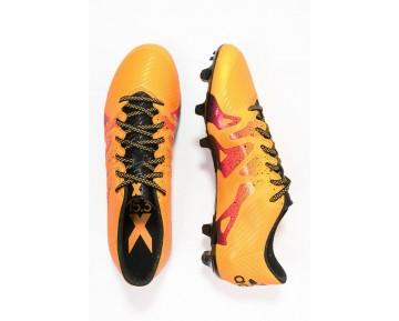 Zapatos de fútbol adidas Performance X 15.3 Fg/Ag Hombre Solar Oro/Núcleo Negro/Shock Rosa,ropa imitacion adidas,adidas negras y blancas,el comercio electrónico