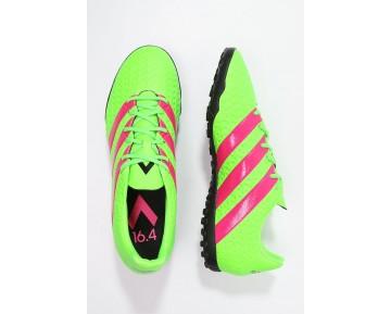 Astro turf trainers adidas Performance Ace 16.4 Tf Hombre Solar Verde/Shock Rosa/Núcleo Negro,adidas scarpe,adidas rosa palo,muy atractivo