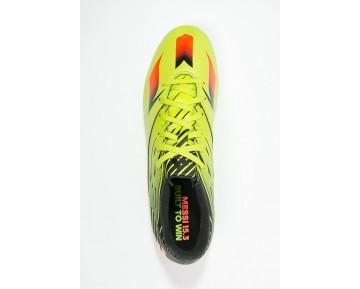 Zapatos de fútbol adidas Performance Messi 15.3 Hombre Semi Solar Slime/Solar Rojo/Núcleo Negro,ropa adidas trail running,zapatillas adidas precio,oferta