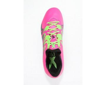 Zapatos de fútbol adidas Performance X 15.1 Sg Hombre Shock Rosa/Solar Verde/Núcleo Negro,adidas blancas y rosas,adidas blancas,Granada
