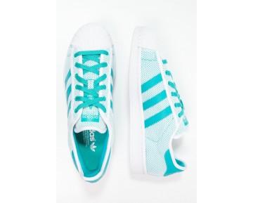 Trainers adidas Originals Superstar Adicolor Mujer Blanco/Shock Verde,adidas rosa pastel,zapatos adidas nuevos,en Granada
