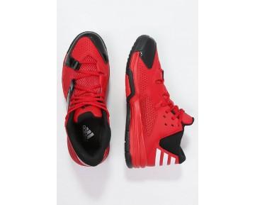 Zapatos de baloncesto adidas Performance First Step Hombre Scarlet/Blanco/Núcleo Negro,adidas blancas y doradas,ropa adidas barata online,místico