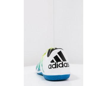 best service b003a d237f Zapatos de fútbol adidas Performance X 15.3 In Hombre Blanco Núcleo Negro Semi  Solar