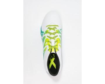 Zapatos de fútbol adidas Performance X 15.3 In Hombre Blanco/Núcleo Negro/Semi Solar Slime,reloj adidas originals,ropa running adidas online,comparativa