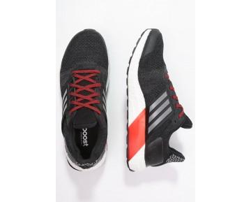 Zapatos para correr adidas Performance Ultra Boost St Hombre Núcleo Negro/Iron Metallic/Vivid Ro,chaquetas adidas retro,chaqueta adidas retro,imagen