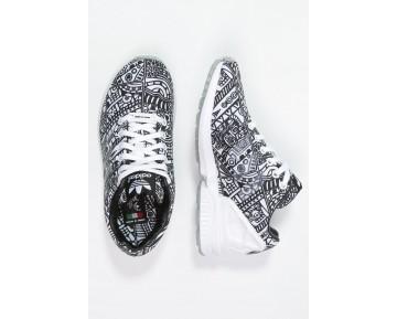 Trainers adidas Originals Zx Flux Mujer Blanco/Núcleo Negro,ropa adidas outlet,adidas negras,ofertas