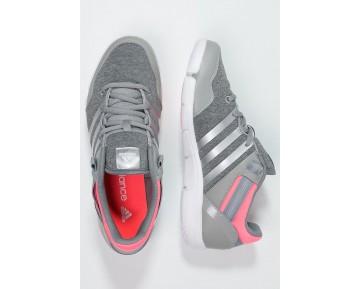 Zapatos de baile adidas Performance Ilae Mujer Medium Gris Heather/Chalk Blanco/Flash Rojo,adidas superstar rosas,zapatos adidas ecuador,Madrid online